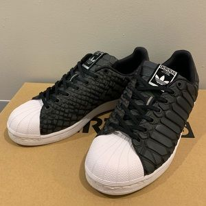 Adidas Original Superstar 'Xeno' Black (Men 9.5)